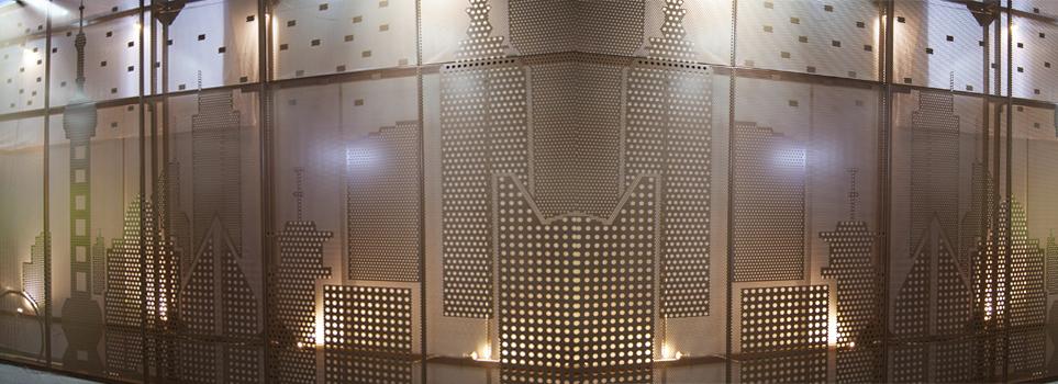 Fachadas en acero con diseños personalizados