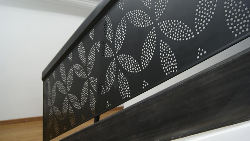 diseño de baranda